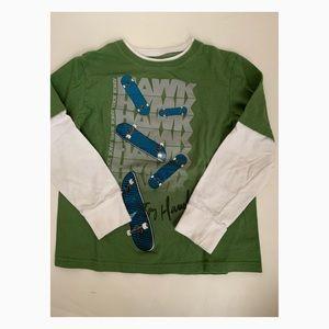 Used Tony Hawk Boys Long Sleeved Shirt - Size 7